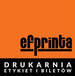 Logo Efprinta - drukarnia